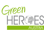 Umweltschutz Green Heroes Austria Logo